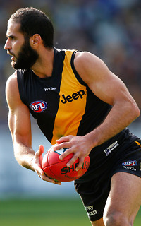Bachar Houli in action for Richmond.